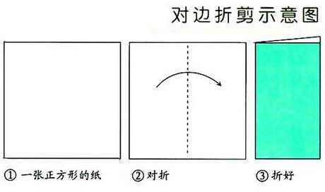窗花剪纸教程 两款简单团花的折叠和剪法